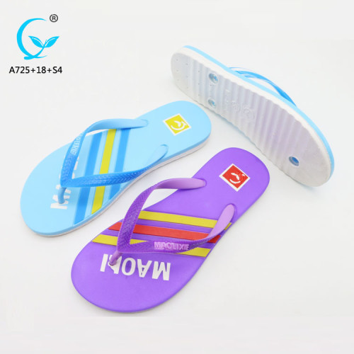 1613 slipper silicon slippers with 11 size for  eve women's girls flip flops