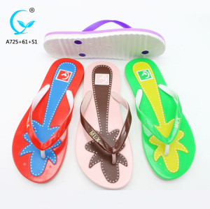 2018 new summer women sandals bottom female flip flat  women's flat latest sandals shoes