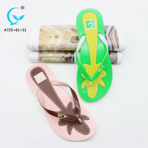 2018 new summer women sandals bottom female flip flat  women's flat latest sandals shoes