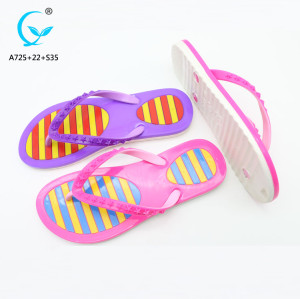 Outdoor summer china market shoes brand name women slippers sandals chappals