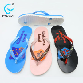 Summer outdoor fashion ladies sandal chappal brand name women sandals slippers