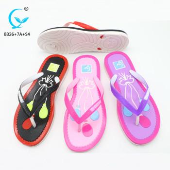 Girls fancy footwear beach plastic summer outdoor beautiful ladies sandals for women