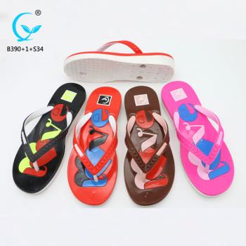 Ladies sandal chappal brand name women foot massage plastic slippers pcu sandals