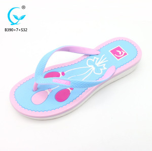 Ladies fancy flat chappal chinese footwear brands antistatic slipper shoes sandals