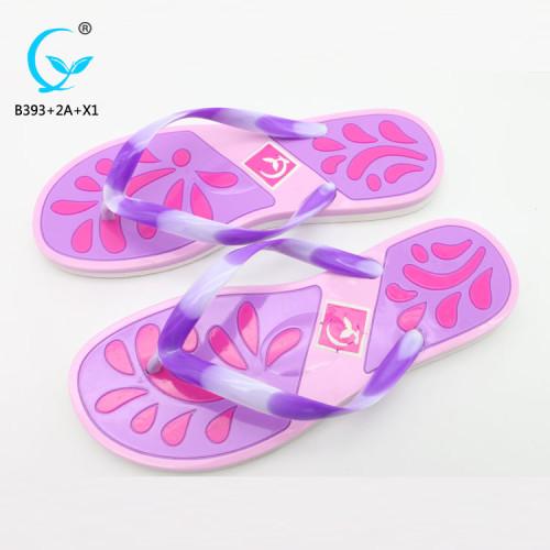 Chinese luxurious footwear ladies sandal chappal brand name women sandals