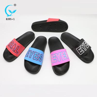 PVC air blowing slipper footwear brands fashion women shoes summer sandals 2018