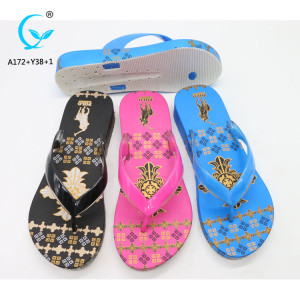 Materials soles footwear shoe flip flops women in bangkok sandals summer 2018