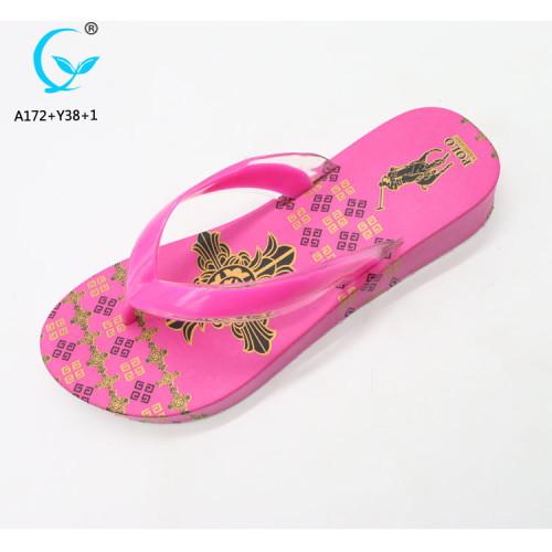 Materials soles footwear shoe flip flops women in bangkok sandals summer 2018
