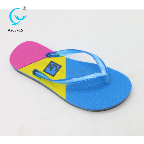 Dubai chappals for women and ladies sandals for health beach women sandal 2018 pvc