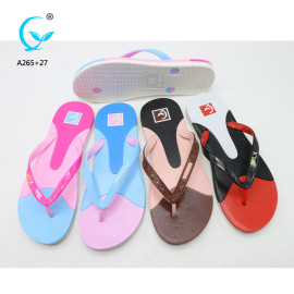 Chappal and sleeper sandals and slippers for man and woman pvc sandals with decoration