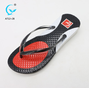 PVC thong rubber strap flip flops sandal wholesale pvc ladies bangkok slippers