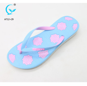 Nude sandal pvc air blowing slipper mold women sandals plastic shoes flip flops