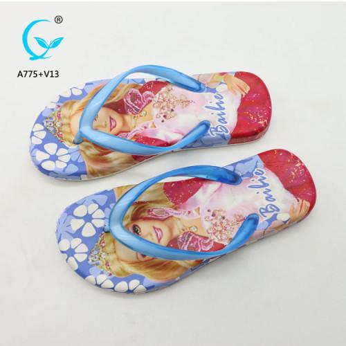 PU slide slipper colorful slide sandal pu men chappal plastic sandals for women