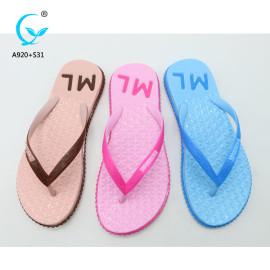 PVC nude plastic light sandals pictures of women flip flop fancy ladies chappal