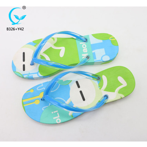 Ladies flat sandals in china outdoor sports flip flops one strap slippers old women sandals
