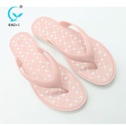 Outdoor women sandals nylon strap flip flop summer trendy nude chinese men slipper