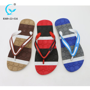 Nude beach slippers flip flop shoes new design men sandals non slip slippers