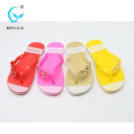 Outdoor sports norwegian slippers non slip flip flops new pattern ladies sandal chappal