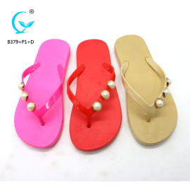 Non skid slippers slide sandals women 2018 model chappals new designs flat sandals