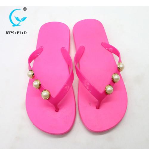 Non skid slippers slide sandals women 2018 model chappals new designs flat sandals