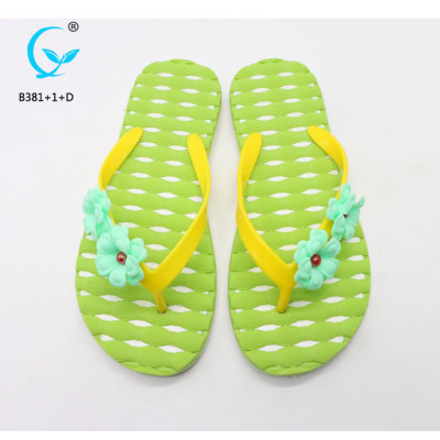 Ladies comfy sliders flat shoes slippers design kids pvc sandals new chappal models myanmar slipper
