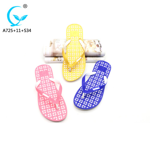 Straw shoes lady shoes summer slippers