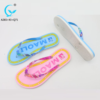 Latest design slippers indoor pvc chappals shoes sandal eva flip flops