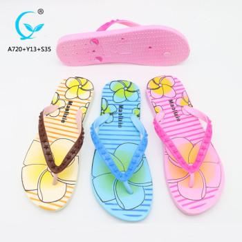 Beach shoe new 2018 design of sandals flip flop eva/pvc slippers 2018