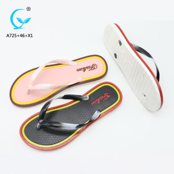 Cheap beach sandals chappals new arrival pvc slipper bath wholesale