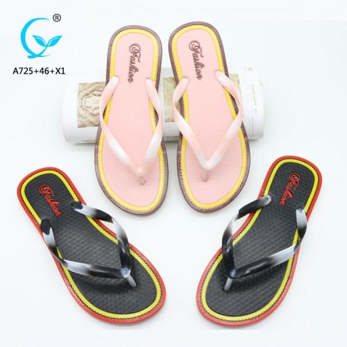 Cheap beach sandals chappals new arrival pvc slipper bath wholesale