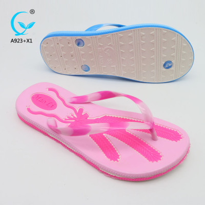 Chappal all kinds of flip flops pvc push-in sandals cheap beach slippers