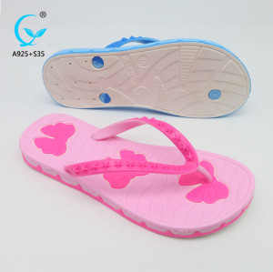 Hotel latest beach chappal women shoes flip flops all kinds of sandals