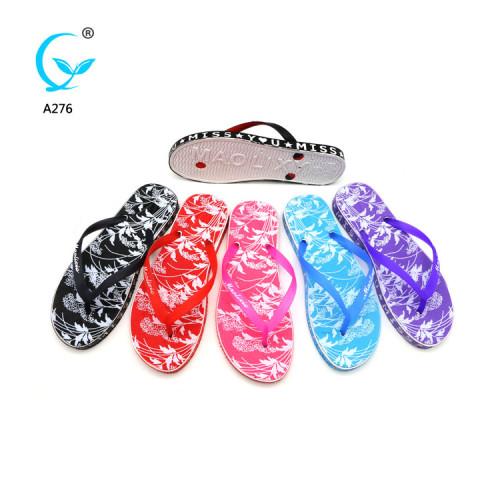 beautiful women soft  non woven plastic slippers female