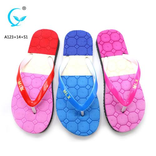 Eva beach aerosoft eve women's girls anti-skidding flip-flops slippers