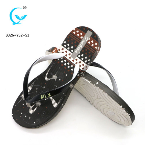 Changeable straps mature women ladies made in china thai slipper