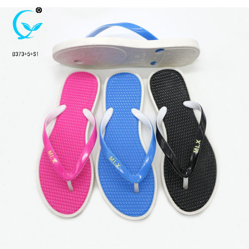 Sticky women summer printable beach purely slippers guangdong