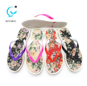 Beauty shoes women folding travel brazilian summer slippers
