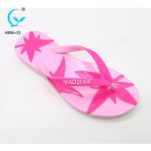Heel chappal girls fancy footwear custom embroidered slippers