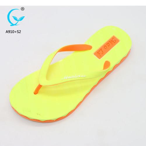 Spring flip korean flat pcu footwear 2017 newwoman pcu slipper