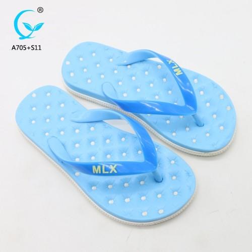 Beach shoes latest ladies sandals massage slippers new designs flat sandals