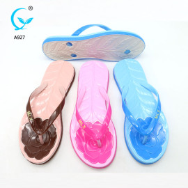 Fashion ladies footwear china chappal beach shoes latest ladies sandals