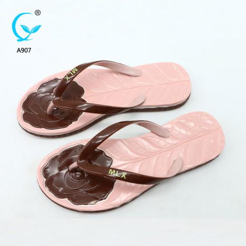 Fashion ladies footwear china chappal beach shoes latest ladies sandals