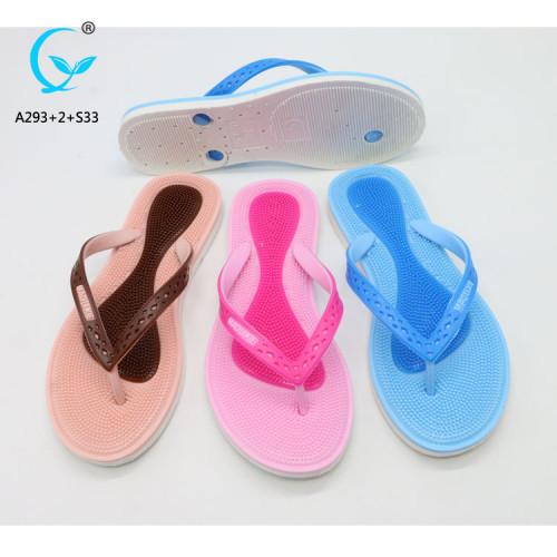 Footwear for women foot massage pvc flip+flop+slipper+sandals heels flip flops uk