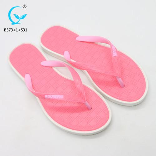 Fancy nude beach sandals flip flops girls fashionable chappal footwear women