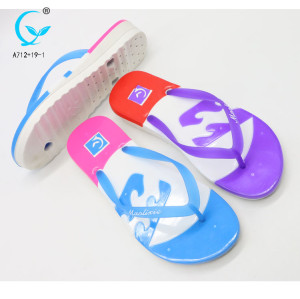Nice beach slipper for lady spring season and flip flops style dopi flipflop girls china chappal