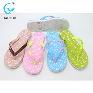 Women's flip-flops and house  rubber sole slipper for women