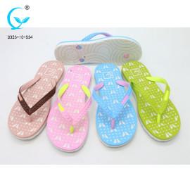 Women's flip-flops and house  rubber sole slipper for women