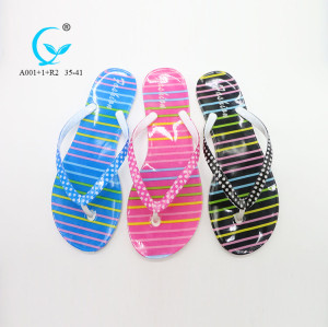 Personalised aerosoft walking thailand rubber foldable flip flops