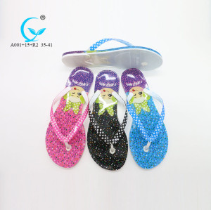 Clear strap premium pictures girls thongs safety islander flip flops