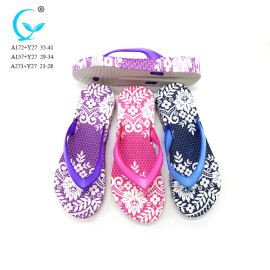 Air blow customizable thongs summer woman flip flops